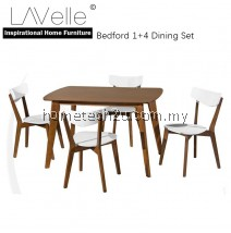 BEDFORD 1+4 PIECE WOOD DINING SET