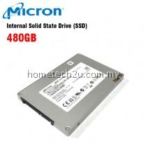 "Micron M500 2.5"" 480GB SATA III 6GB/S Solid State Drive (SSD)"