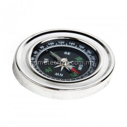 MAP MEASURER COMPASS DISTANCE CALCULATOR OUTDOOR CAMPING HIKING TOOL (SILVER)