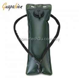 GUAPABIEN 3L TPU FOLDABLE OUTDOOR CLIMBING WATER BLADDER (GREEN)