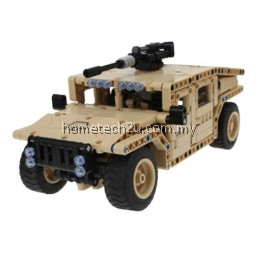 REMOTE CONTROL OFF-ROAD VEHICLE BUILDING BLOCK TOY 502PCS (CAPPUCCINO)
