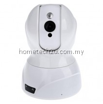 826 3D INTELLIGENT IP CAMERA NOISE REDUCTION NIGHT VISION REMOTE CONTROL MINI 1.0MP HD CLOUD (WHITE)