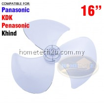 "Fan Blade 16"" Inch Replacement For Panasonic KDK Pensonic Khind"