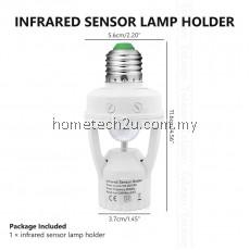 Smart LED Lamp Bulb Holder With Infrared PIR Motion Sensor