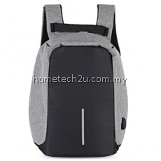 GUAPABIEN MULTIFUNCTION TRAVEL USB PORT BACKPACK FOR MEN (GRAY)