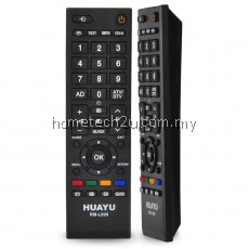 TOSHIBA LCD/LED TV REMOTE CONTROL RM-L890 Compatible