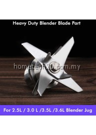 2.5L Commercial Heavy Duty Ice Crusher Blades Replacement Blender spare parts