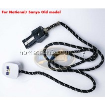Rice Cooker Cable Power Cord For National Sanyo 7A old Model