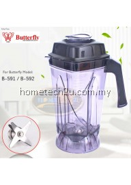Butterfly B-591/B-592 2.5L Blender Jar Jug Set