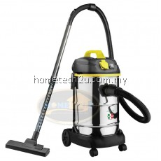 Faber FVC-WD630 Wet & Dry Heavy Duty Vacuum Cleaner 30L Stainless Steel Tank (1600w)