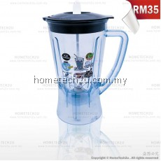 UNBREAKABLE BLENDER JUG FOR PANASONIC MX-GM1011H, MX-800S, MX-801S, MX-900M, MX-337