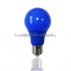 LED A60 Color 7W E27 LED A60 Red, Green, Yellow, blue color bulb