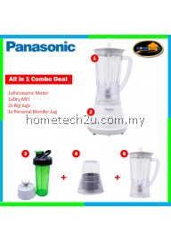 Panasonic Blender MX-GM1011H Combo Deals with extra Jug