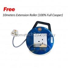 Milux Cyclonic Handheld Vacuum Cleaner MVC-821 (Free Extension Roller)
