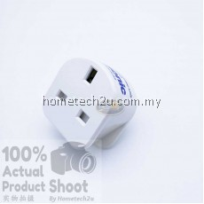 2PCS Eclipse 13A Surge Protector Adaptor Plug (with Panasonic Surge Suppression Device)