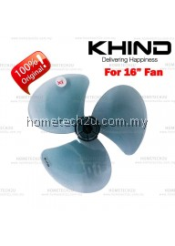 "Khind Original 16"" Table Fan Blade Replacement Parts"