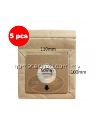 x5pcs Pensonic Vacuum Cleaner Dust Bag use For PVC-31A PVC-25A PVC-22B