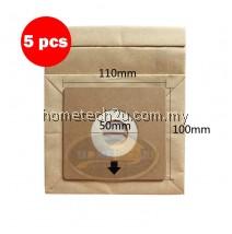 x5pcs Pensonic Vacuum Cleaner Dust Bag use For PVC-31A PVC-25A PVC-22B